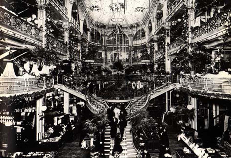 Pariser Passage, historische Fotoaufnahme, 19. Jahrhundert